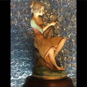 """SOMEWHERE MY LOVE"" is the tune in this figurine."